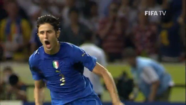#HBD Fabio Grosso 🎉🇮🇹 He scored the spot kick that sent the whole of Italy into ecstasy: the winning penalty in the 2006 #WorldCup Final shootout 🎯 @azzurri | @FIGC