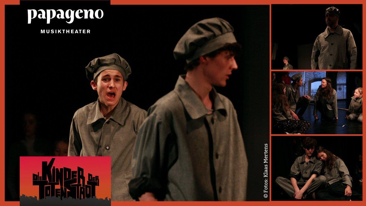 Theaterkarten? Wegen des großen Erfolgs führt das @PapagenoTheater am 23., 24. und 25. Januar 2020 #DieKinderDerTotenStadt, das Musikdrama #GegenDasVergessen unter Schirmherrschaft von #IrisBerben, wieder auf. #Frankfurt #Uraufführung #Theater #Oper #Musical #Stage #Twlz #DKDTSpic.twitter.com/eOfTOtUTuB