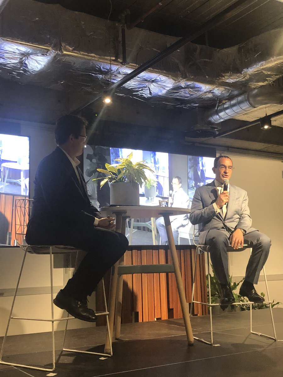 @MLiebreich inspires companies at @theRE100 Australia event with the opportunities and challenges @JonDeeOz