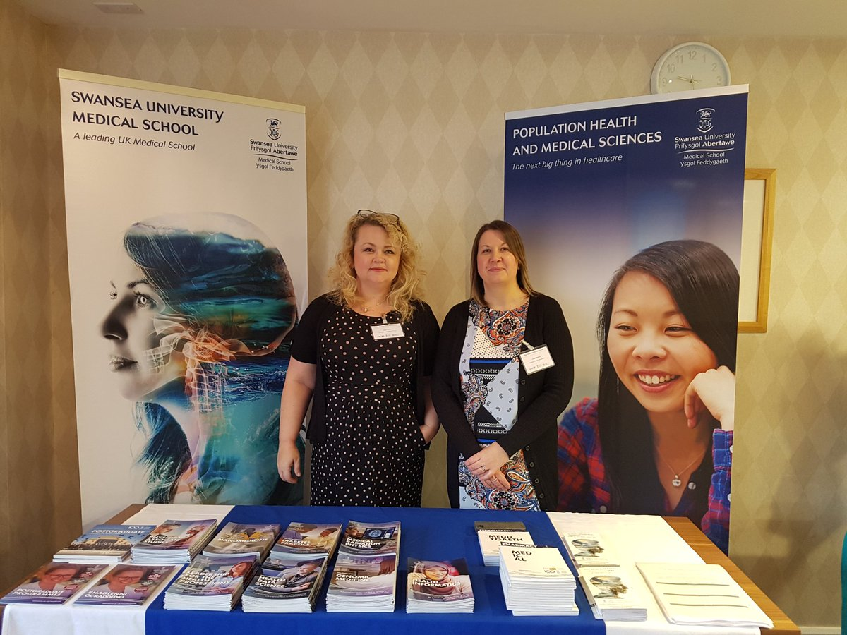 All ready for the #PopHealth2019 conference today, showcasing our range of undergrad and post grad portfolio of courses @SwanseaMedicine<br>http://pic.twitter.com/IwR6c7JeyC