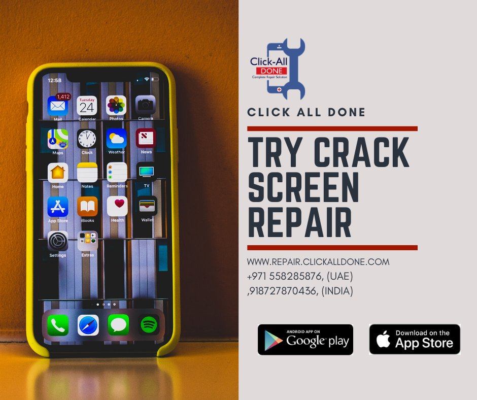 TIME FOR REPAIR! GET FREE PICK AND DROP FACILITY  CONTACT US : +918727870436(INDIA) +971558285876(UAE)  EMAIL US : contact@clickalldone.com  #mobilerepair  #mobilefix #laptoprepair #gadgetfix #repairshop #fixyourphone #mohali #chandigarh #kharar #punjabpic.twitter.com/3xEISgrulq