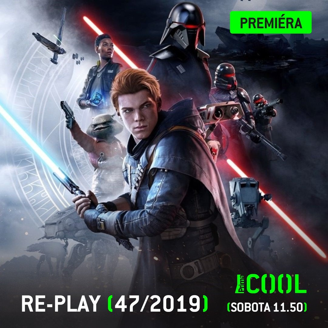Novej @replaycz náramně potěší každýho Jedie ;) #PrimaCOOL #Replay #StarWarsJediFallenOrder @rota152 #GabrielaWrobel @ArcadeBulls #Cerberos https://t.co/paIFZOhljU
