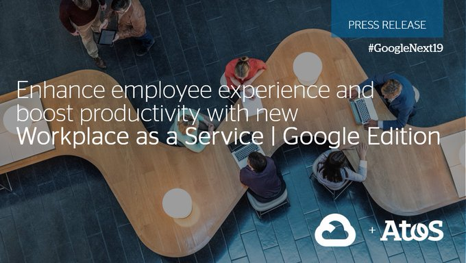 Today at #GoogleNext19 we announce a new Workplace as a Service | Google Edition...