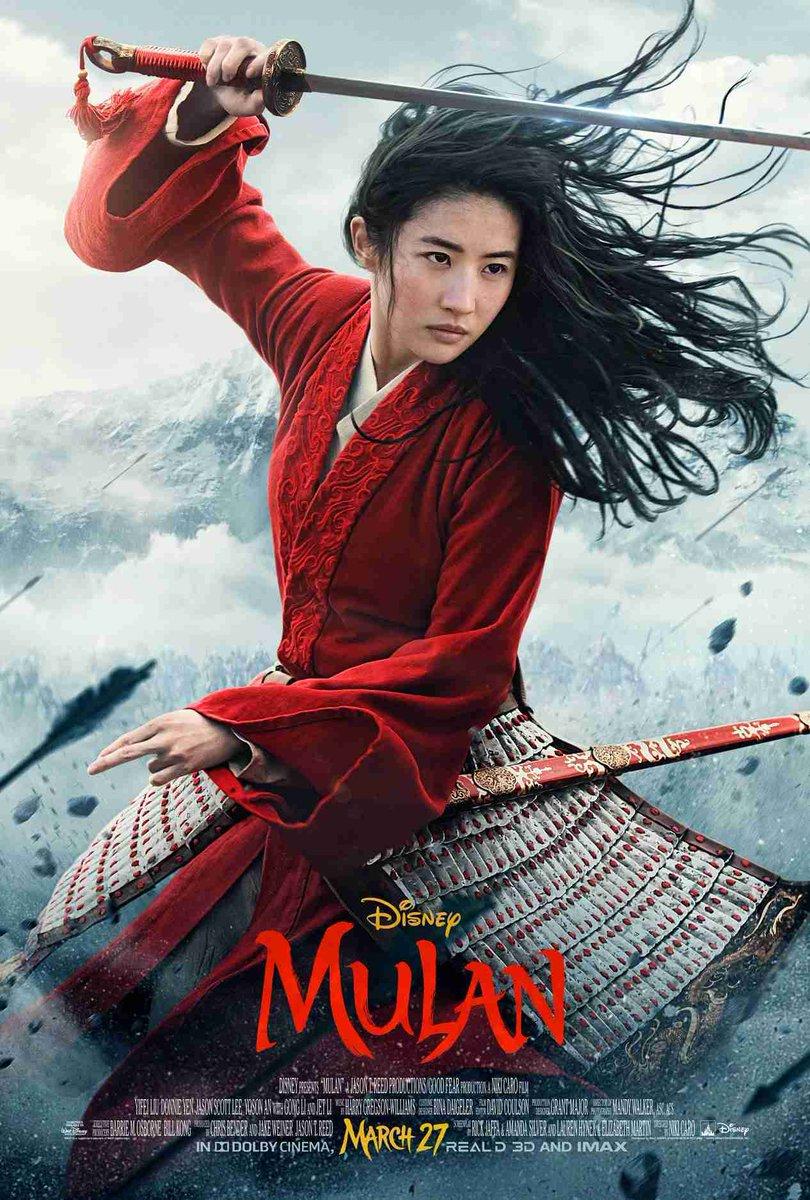 A Disney divulgou um novo cartaz de Mulan. Além disso, amanhã (5/12) será divulgado também o novo trailer do live-action! Curtiram?...#mulan #disney #ccxp #live #action #japan #movie #nerd #geek #pp