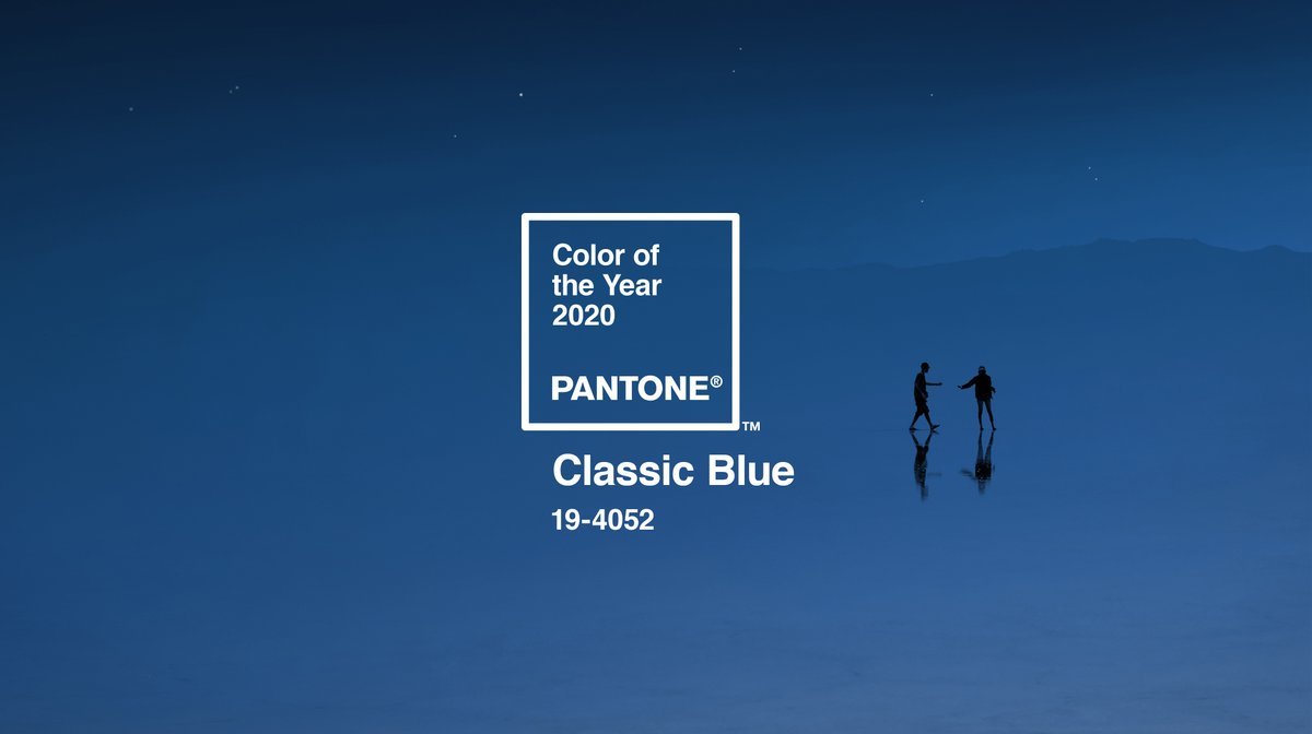 Presenting PANTONE 19-4052 Classic Blue, the Pantone Color of the Year 2020. A timeless and enduring blue hue, timeless in its simplicity. #pantone2020 #coloroftheyear