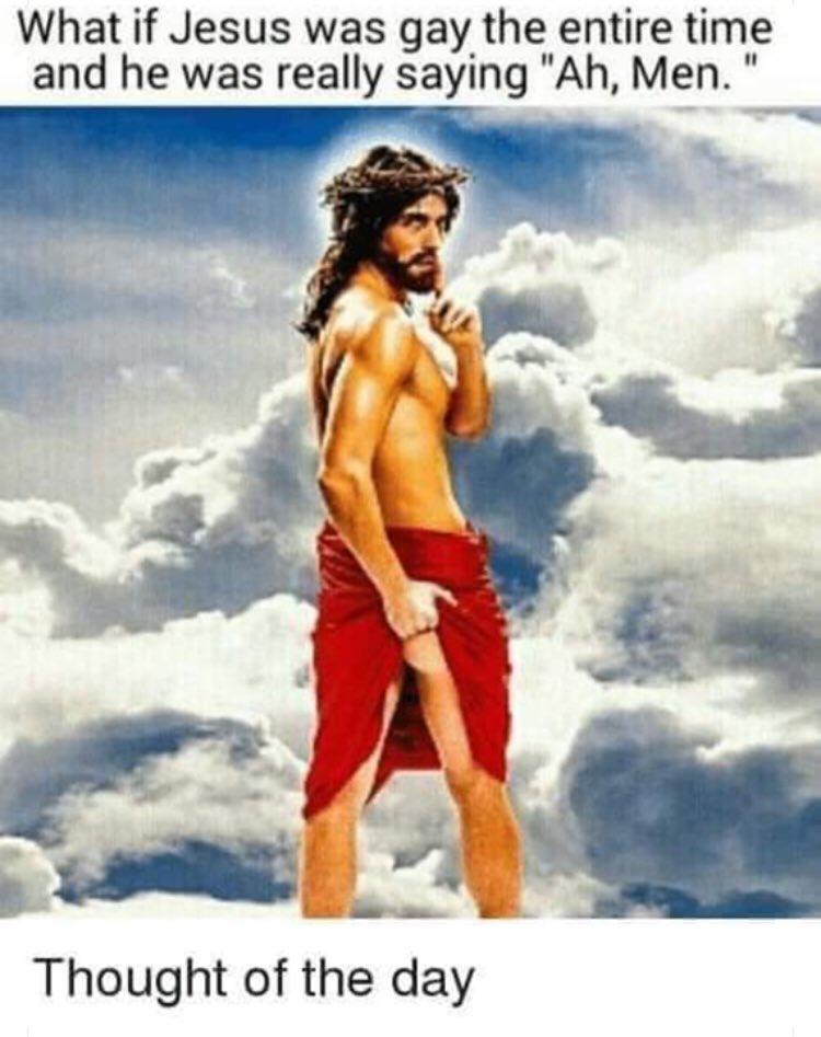Bigger than gay jesus
