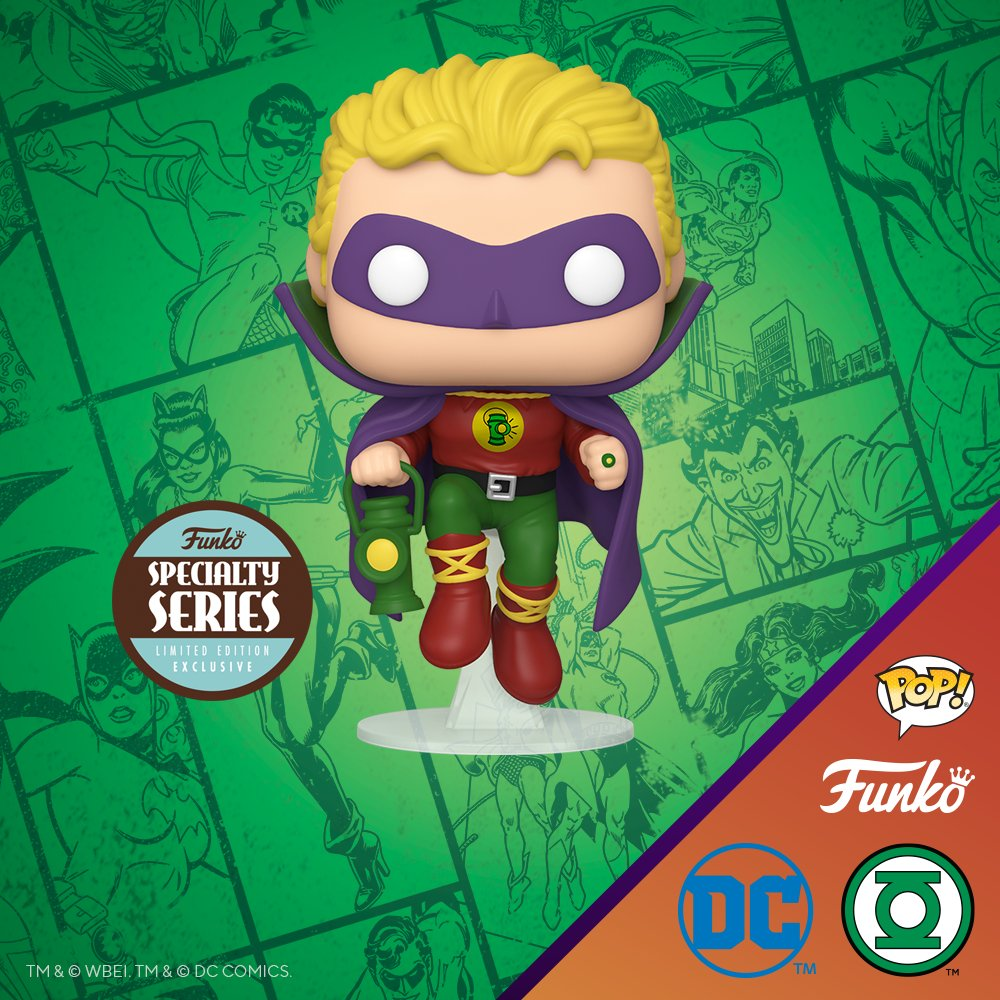 Coming Soon: Pop! Heroes—DC Comics—Alan Scott as Green Lantern! funko.com/blog/article/c… @DCComics #DC #GreenLantern #Funko #Pop #FunkoPop