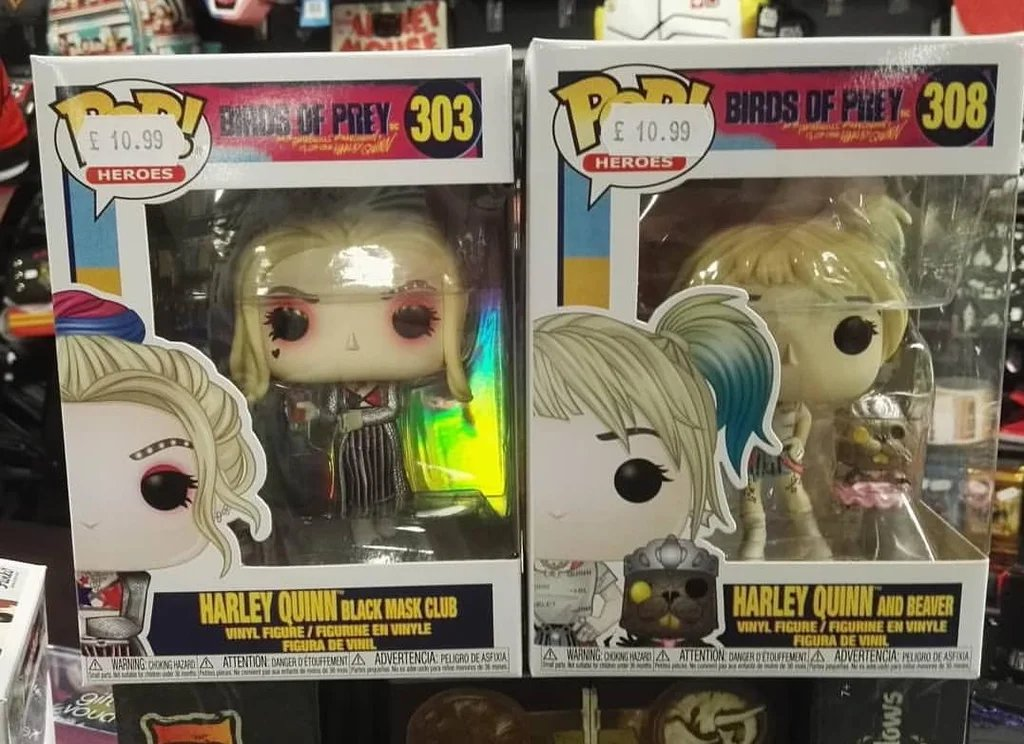 Funko Pop News On Twitter In Person With Two Harley Funko Pops From The Upcoming Birds Of Prey Film Plenty More Harley To Come I M Sure Fpn Funkopopnews Funko Pop