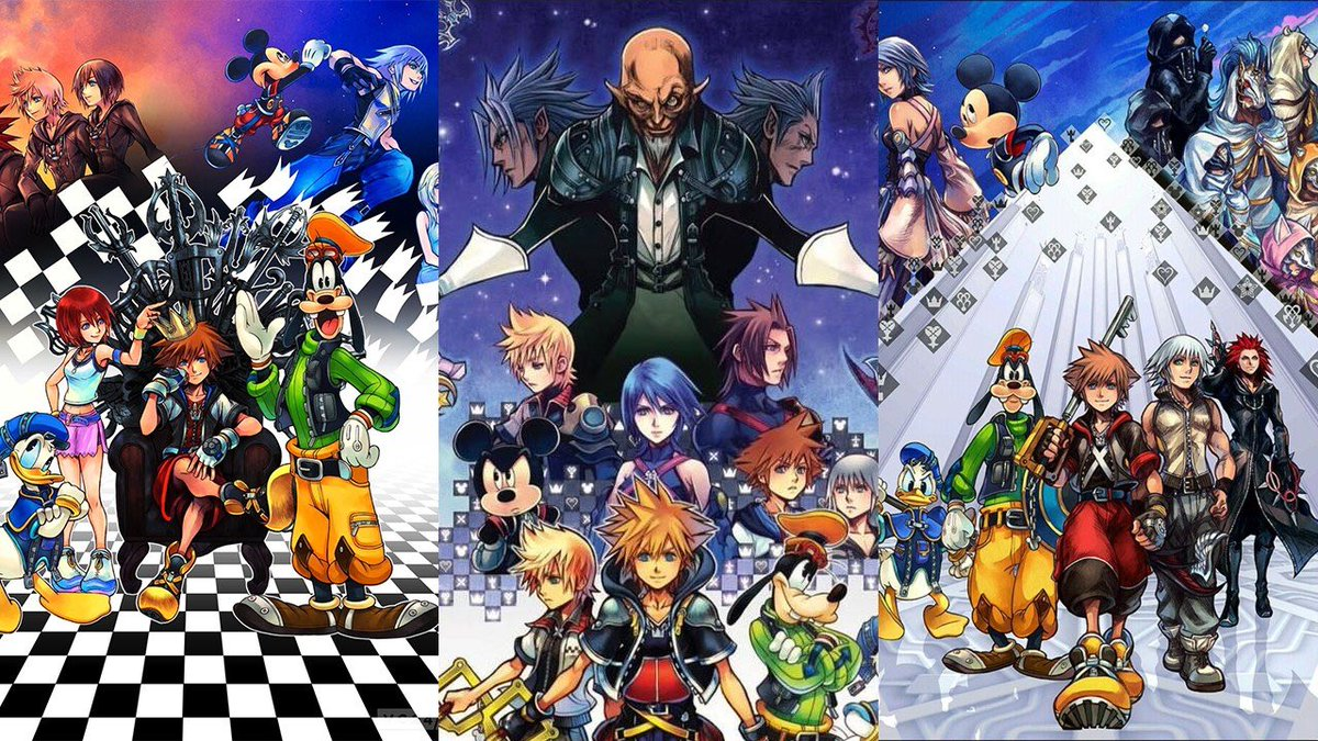 Square Enix remastered Kingdom Hearts 1, Chain of Memories, KH2 & BBS on PS3, re-released all of THOSE games on the PS4, went on to redo DDD, made 0.2, released KH3, and is gonna do it all over again for Xbox One & probably Scarlet before Yandere Simulator finishes development <br>http://pic.twitter.com/mMBFdzvjfh