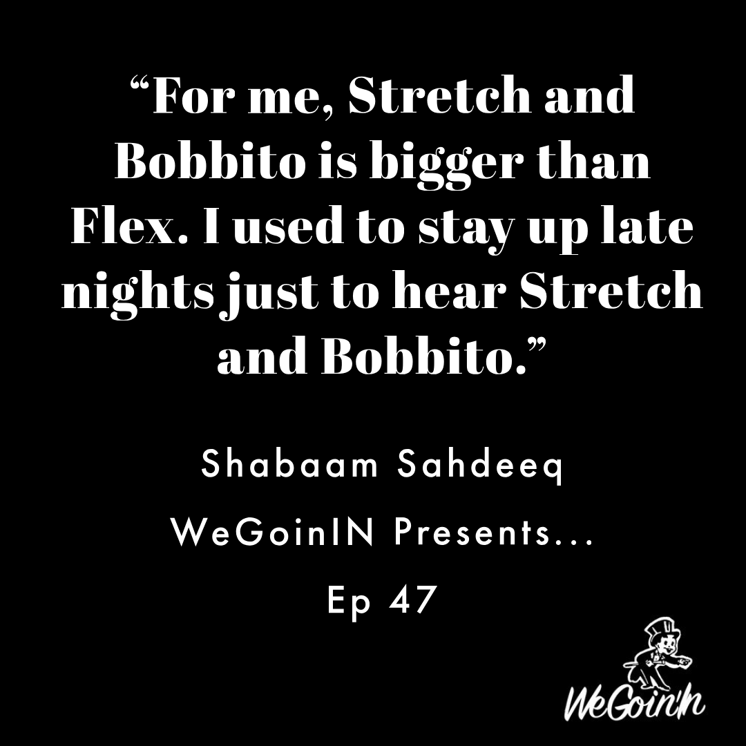 @ShabaamSahdeeq on the importance of college radio. Full interview at wegoinin.com/2019/12/02/epi…