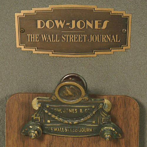 #CharlesDow #DowJones #TheWallStreetJournal