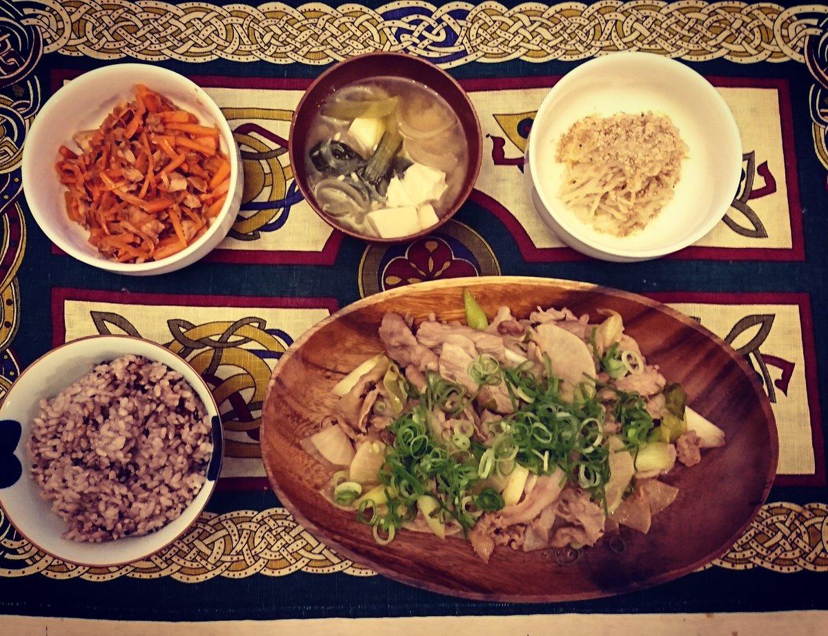 小松菜 豚肉 ポン酢