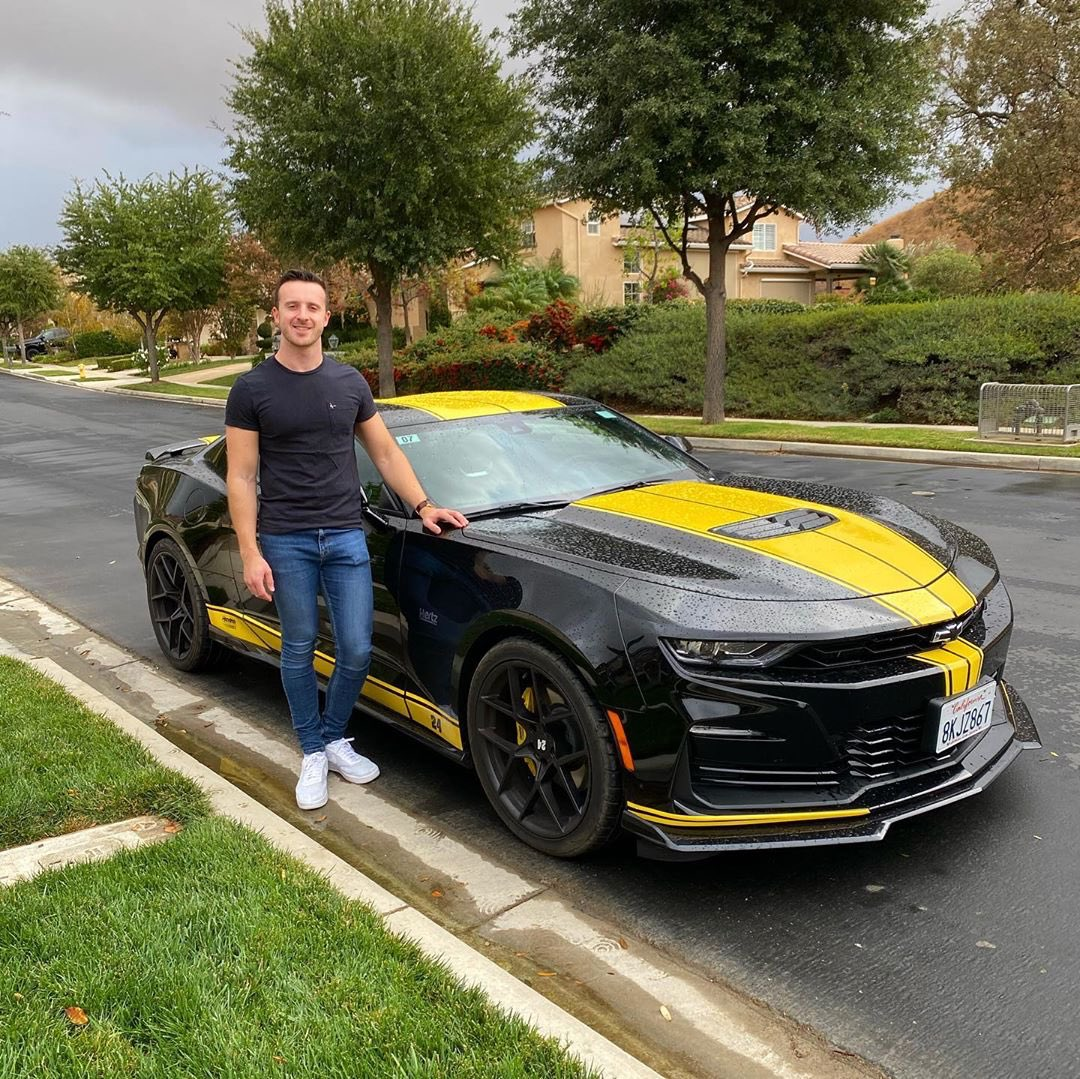 Great to see our customers enjoying our Hertz- @TeamHendrick custom Camaros! Josh drove this down the Angeles Crest Highway. What drive would you take with our new Camaro?  Photo credit: IG @joshhowworth7