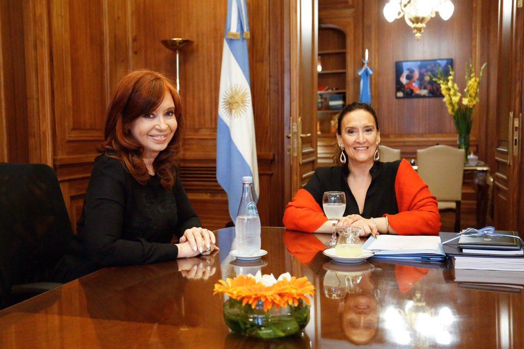Reunión en @SenadoArgentina con @CFKArgentina https://t.co/3XuOi2RWKn