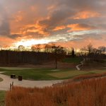 Image for the Tweet beginning: December Sky.  #tpcpotomac #playtpc #beautifulgolfcourses #sunset