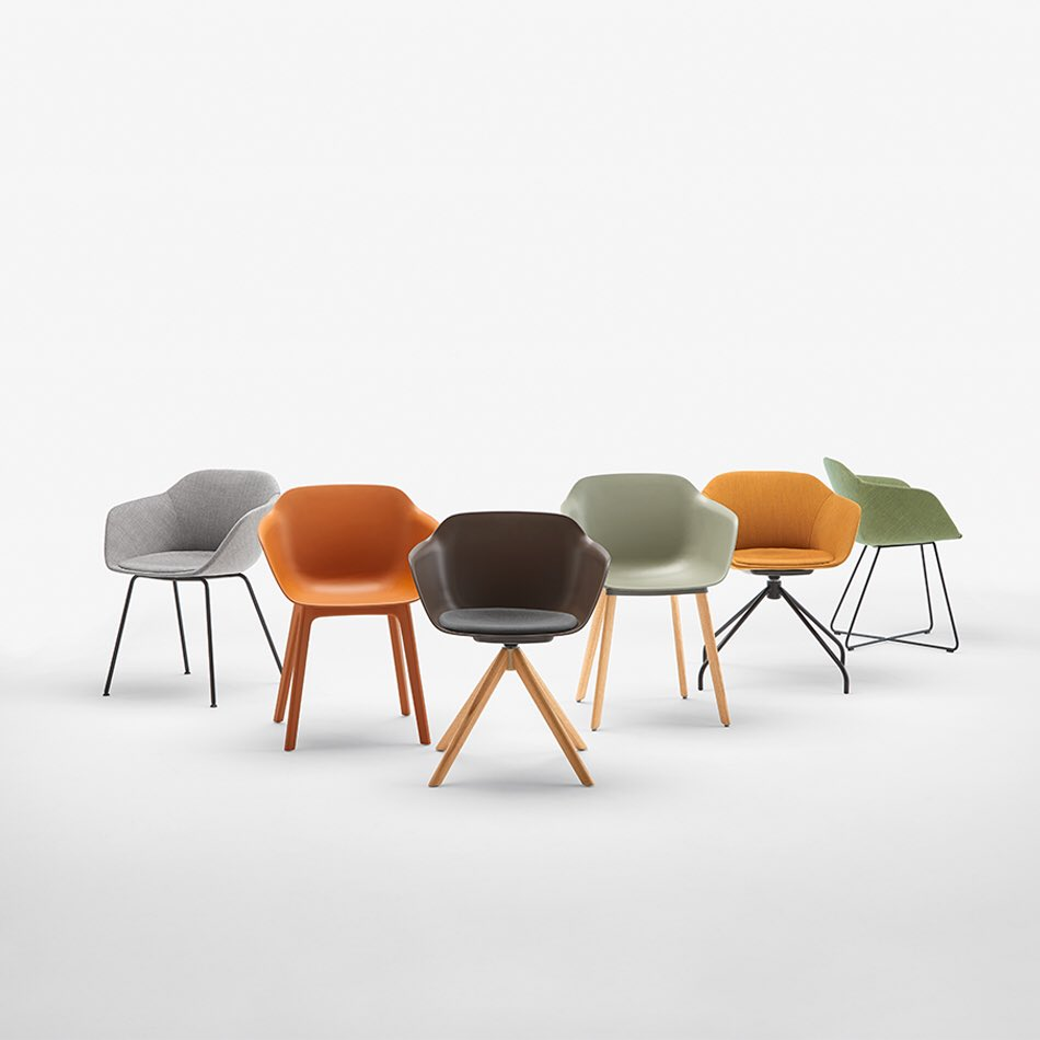 Introducing Taia, an armchair that mimics the silhouette of a blossoming flower.   https://t.co/viYttR9lsy