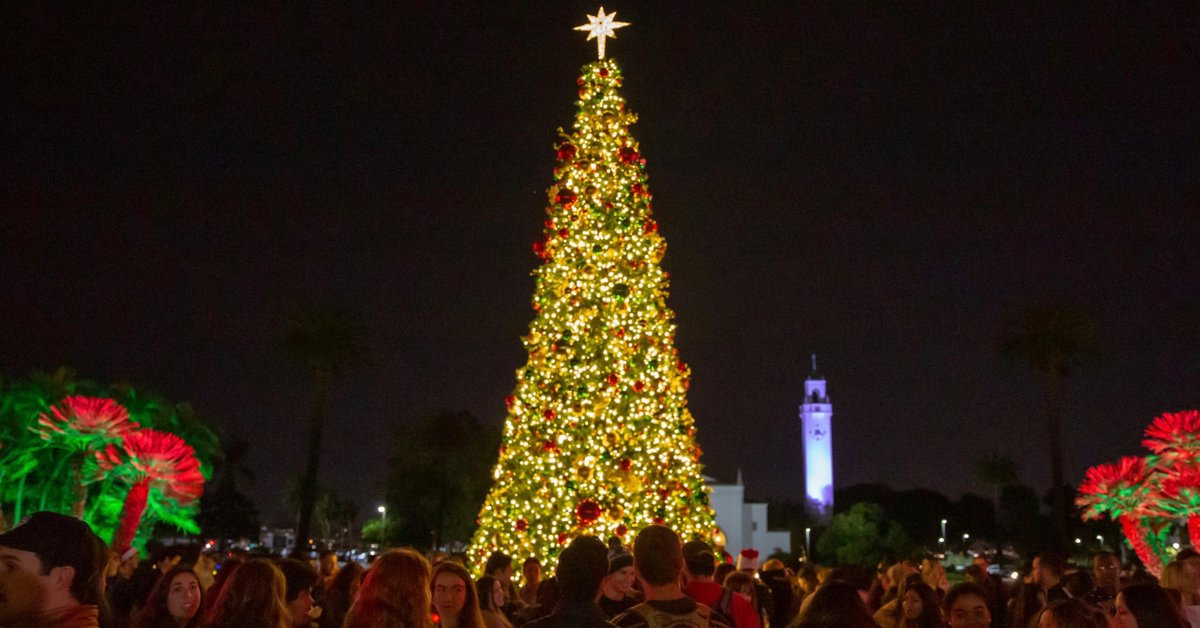 Its that time of year again, Lions!🎄🦁 LMU students, faculty, staff and the Westchester community are invited to kick off the holiday season at @myASLMUs Christmas Tree Lighting. The fun begins Friday, Dec. 6 at 5pm: bit.ly/33QxaH6
