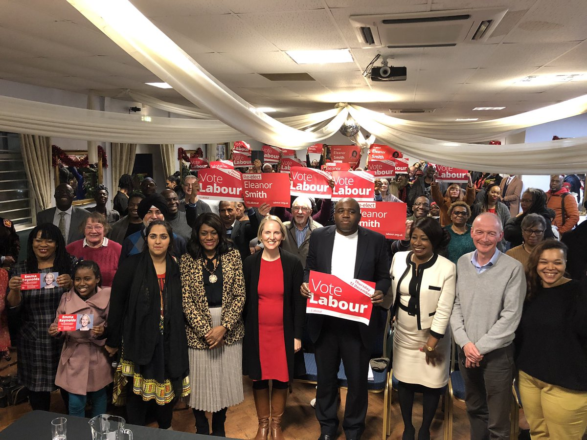 Huge thank you to @DavidLammy for coming to #Wolverhampton this evening - inspiring speech from David, great turnout and fantastic event.