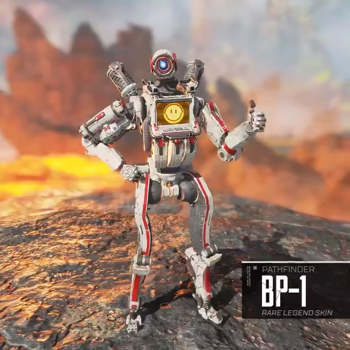 "In celebration of the launch of #JediFallenOrder, we're releasing the BD-1-inspired, ""BP-1 Pathfinder skin."" To claim the skin, simply log in to Apex Legends from Dec 3 – Jan 14. Congratulations once again to the Jedi team here at Respawn! ❤"