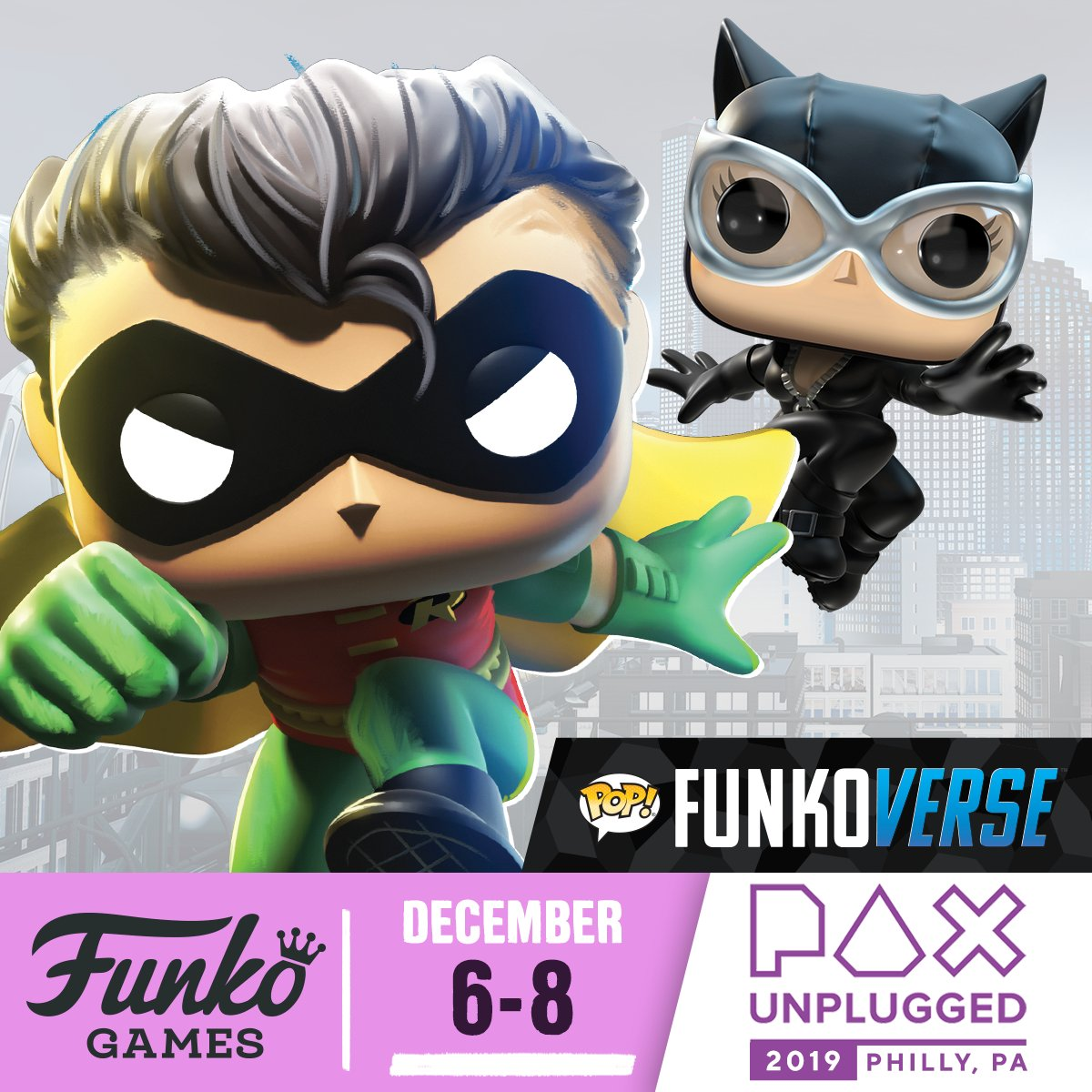 Funko Games at PAXU! funko.com/blog/article/f… #FunkoGames #Funko #Funkoverse