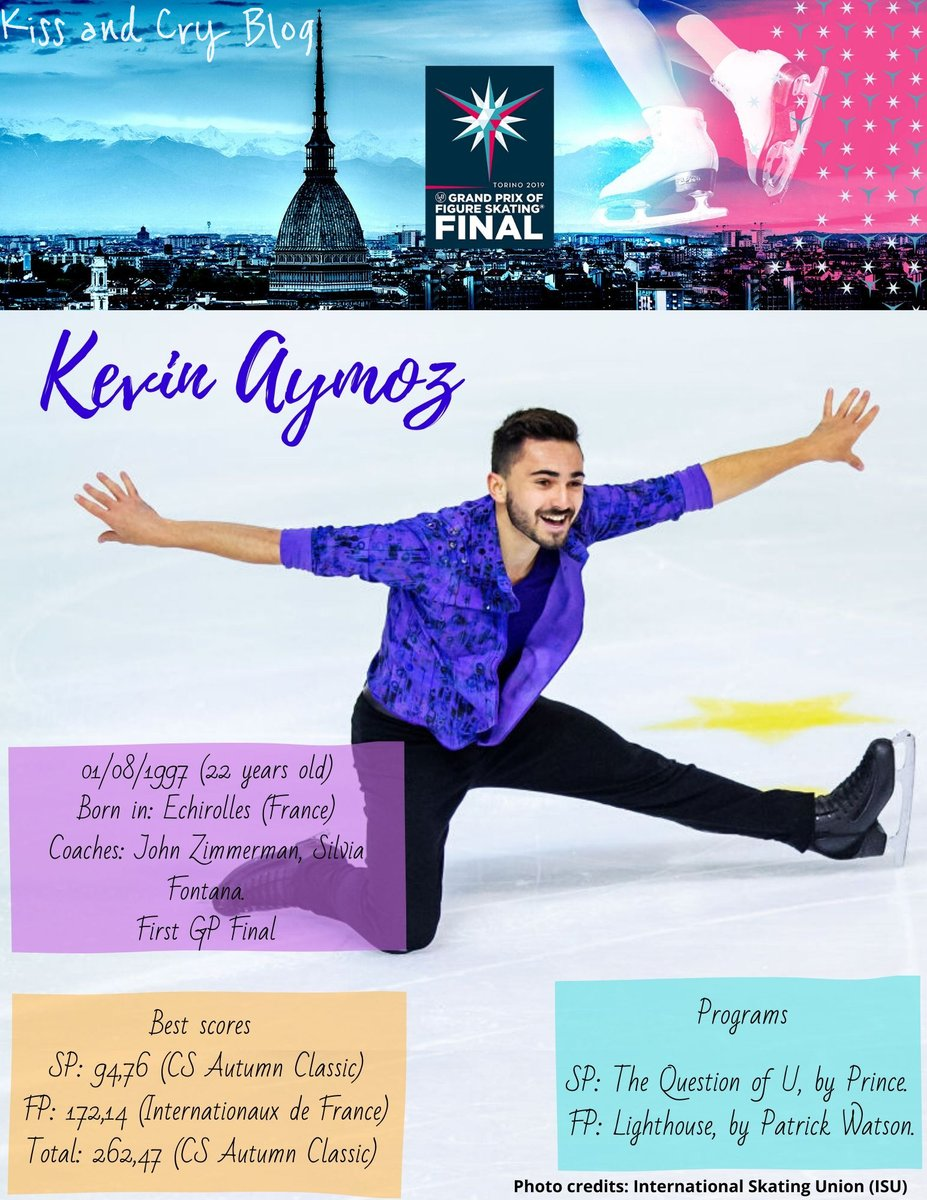 #GPFinal #GPFigure  #KevinAymoz (FRA)   He earned his first medals at the Grand Prix this year, securing the spot for his first Final.   Internationaux de France  NHK Trophy <br>http://pic.twitter.com/wbNARDLWz6