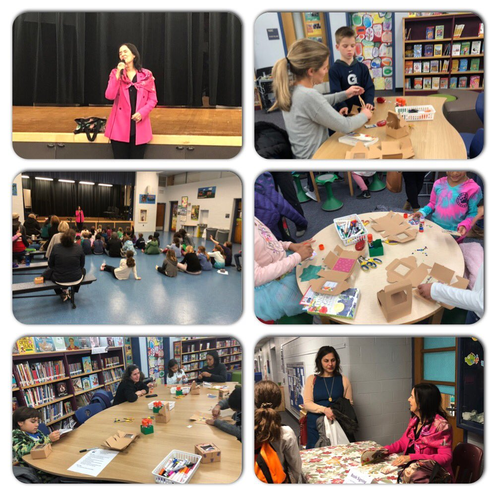 Author visit- Ruth Behar- culminating our community book club <a target='_blank' href='http://twitter.com/APSTitleI'>@APSTitleI</a> <a target='_blank' href='http://twitter.com/APSLiteracy'>@APSLiteracy</a> <a target='_blank' href='https://t.co/Wc3jWBXF72'>https://t.co/Wc3jWBXF72</a>