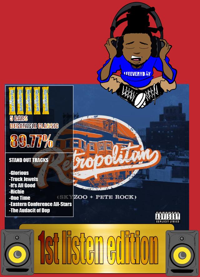 Skyzoo & Pete Rock: Retropolitan (2019) album review