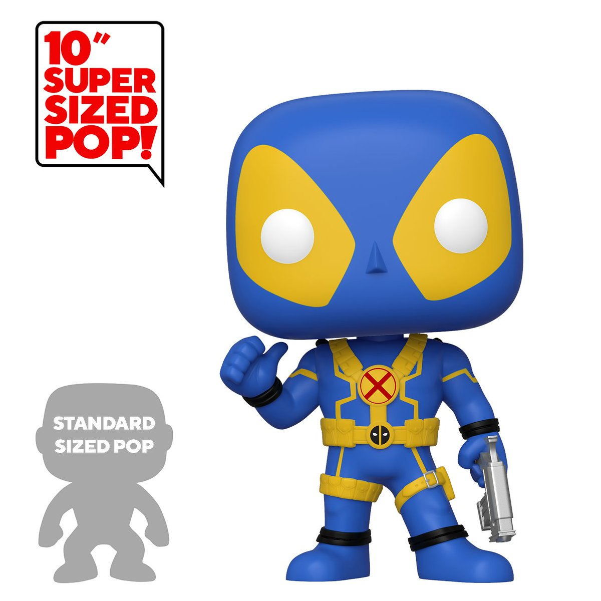 "RT & follow @OriginalFunko for a chance to WIN a @Walmart Exclusive 10"" Blue Deadpool Pop! #Funko #FunkoPop #giveaway #Exclusive #Deadpool #Marvel"