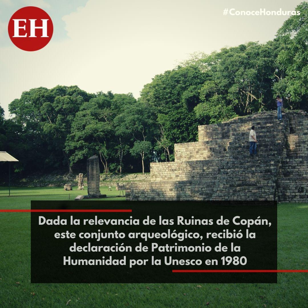 #ConoceHonduras Dos años después, en 1982, el gobierno hondureño lo declaraba Monumento Nacional