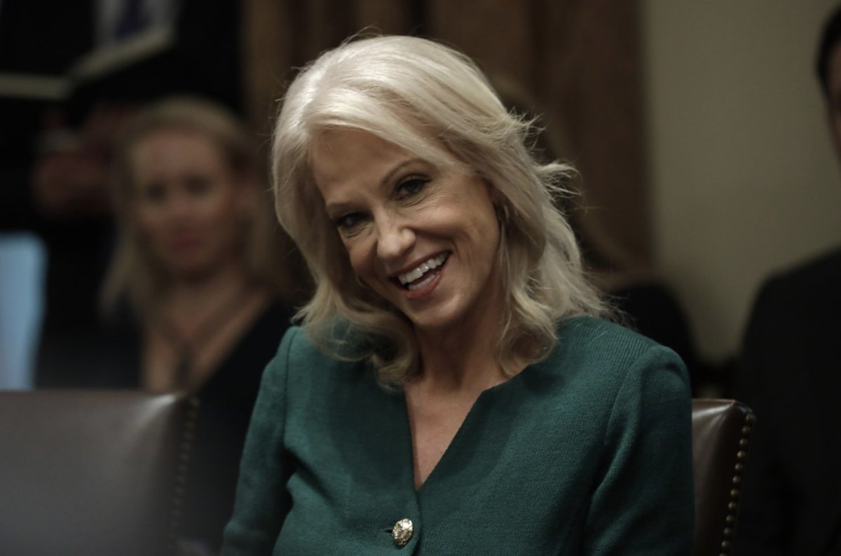 The Kellyanne and George Conway Spectacle Takes a More Personal Turn rol.st/2rbdbpx