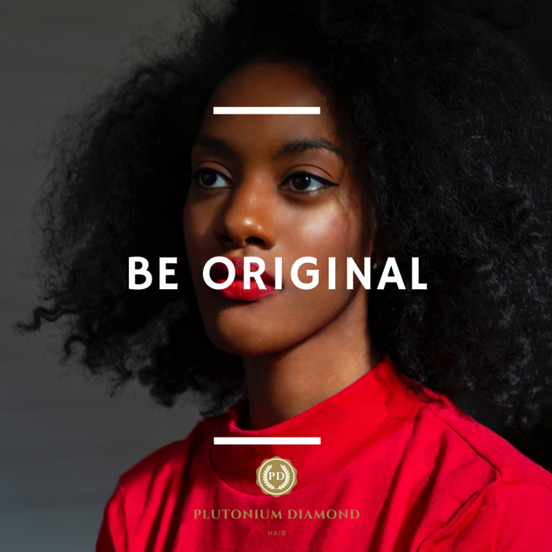 To be original means you have to stand alone. #PlutoniumDiamondHair * * * *  #beautifulhairstyle#fa