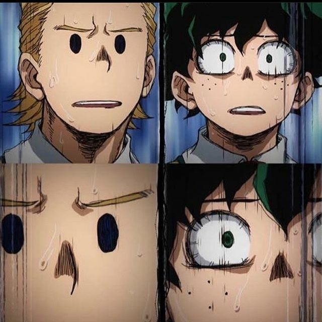 Our faces catching up on this season #MHA!! . . . . . #melanerds @crunchyroll #myheroacademia #myheroacademiamemes #animemonday #mondaymotivation #whatsnext #bingewatching #cleanears https://ift.tt/2rJIxUfpic.twitter.com/Z7amqghVxO