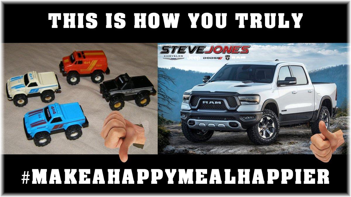 LOL I mean.... #MakeAHappyMealHappier
