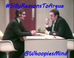 It's time to get silly and argue...  Let's play:  #SillyReasonsToArgue  With: @stgavalot @Good_Ole_Bebs @BrendaBurner66 @BrandonBurner66 @Colbywinters and team: @WKatCrook @SeanMODonnell1 @gigirules7   Come share your silly arguements!!<br>http://pic.twitter.com/2WvV0kEQwD