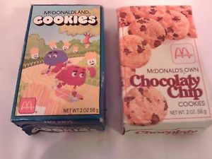 #MakeahappymealhappierBring back the cookies that came in the boxes with the characters on them.