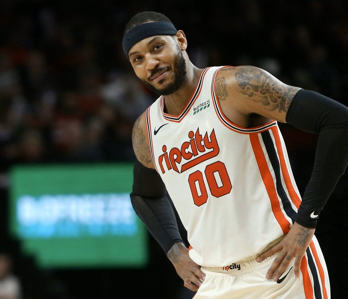 November 27th 2019 - Ian Karmel attends the Trail Blazers first home game with Carmelo Anthony on the team.   December 2nd 2019 - Carmelo Anthony wins Western Conference Player of the Week.   Coincidence?