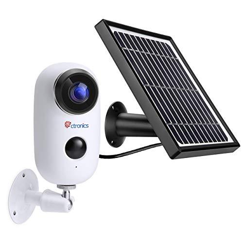 panneau solaire caméra surveillance ip
