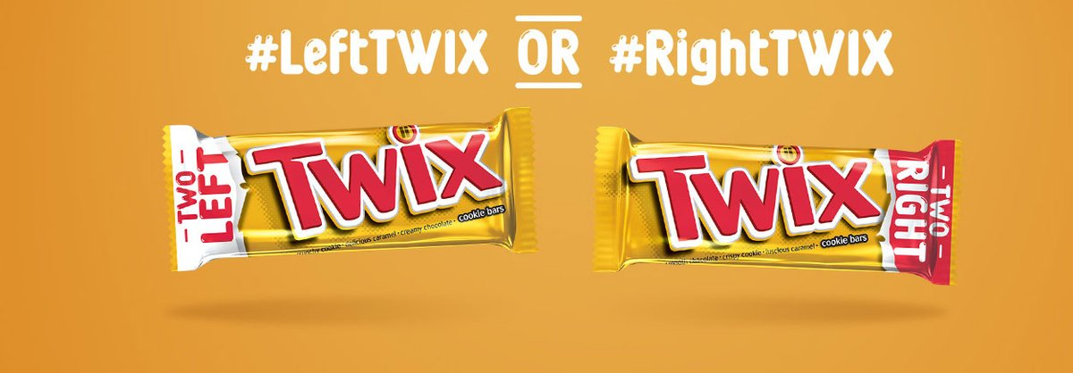 #SillyReasonsToArgue  Right Twix or Left Twix <br>http://pic.twitter.com/vubY6M5rOy