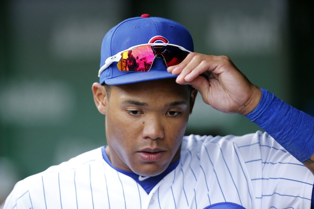 Addison Russell has been non-tendered by the Cubs, will become a free agent <br>http://pic.twitter.com/NCCh85yblR