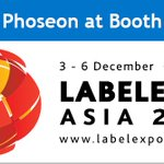 Image for the Tweet beginning: While you're attending @Labelexpo Asia