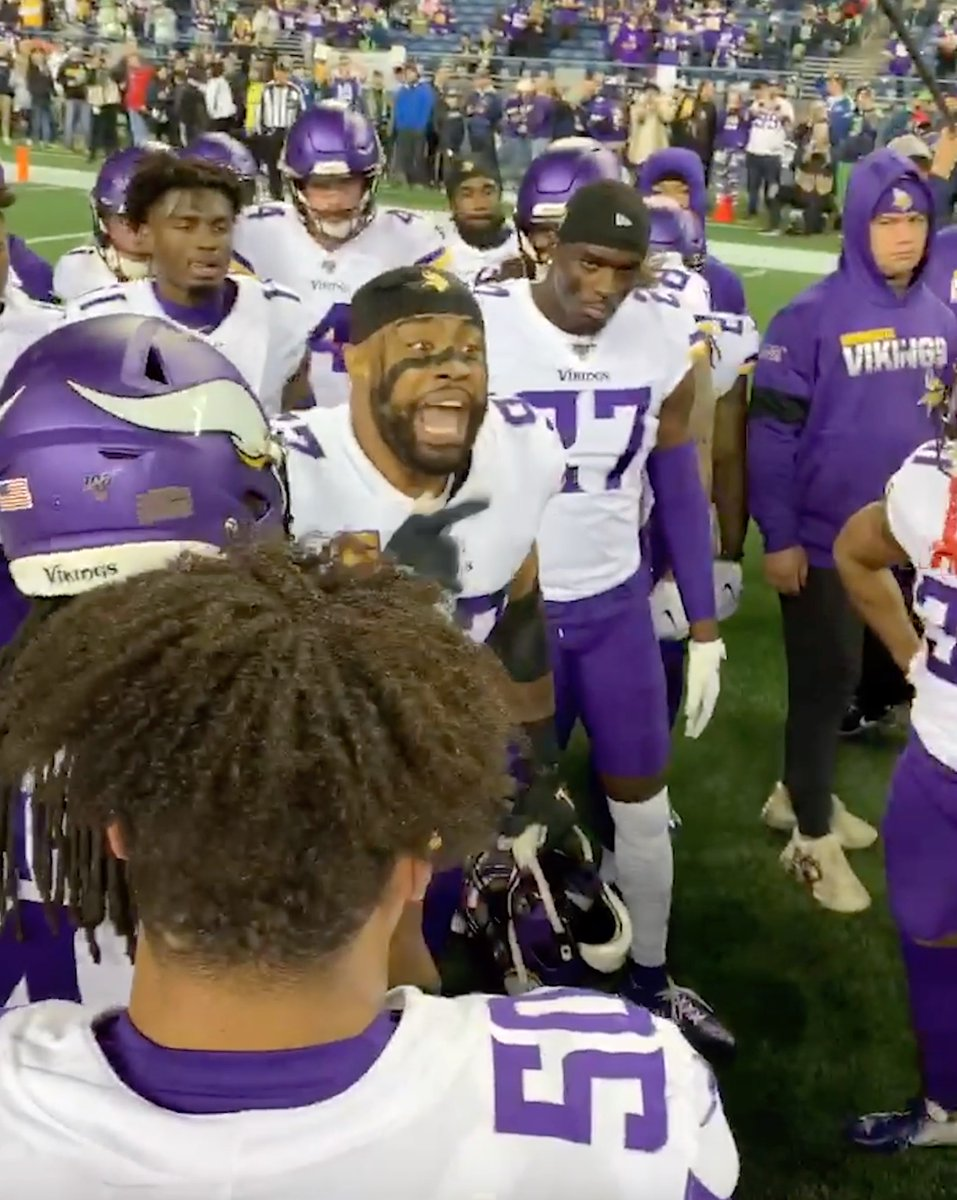 The Vikings are ready for some football 😤   #MNF https://t.co/T9A1xEHPSh