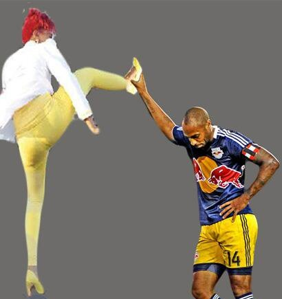 One of the best moments of twitter from this decade when Thierry Henry contributed to the meme culture