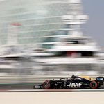Almost 2hrs into testing and Romain is P3/10 runners.   His best time so far is a 1:40.822.   #HaasF1 #AbuDhabiTest