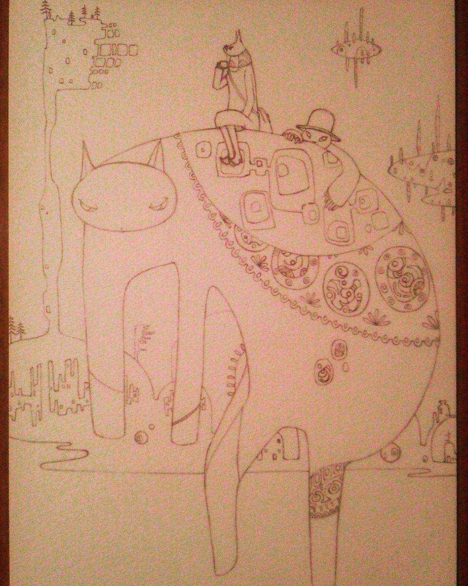 [Sago] ルルドロンドの鉛筆画家 on Twitter: 気紛れ途中経過 #Sago #鉛筆 #ルルドロンド #世界の片隅で #イラストレーション #写真 #途中経過 #住人 #art #artwork #photo #world #artists #illustration #picture #illustrationart…