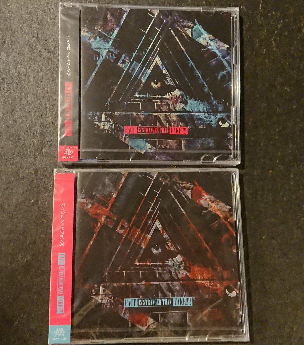 【仙台店】💫フラゲ日💫THE MICRO HEAD 4N'S『FACT IS STRANGER THAN FAKE!!!!』入荷しました✨新体制第2弾‼️今作は全4曲収録のシングルです💕勿論今回もヴィジュアルパッケージ盤と通常盤の2タイプでリリースです🤟🤟