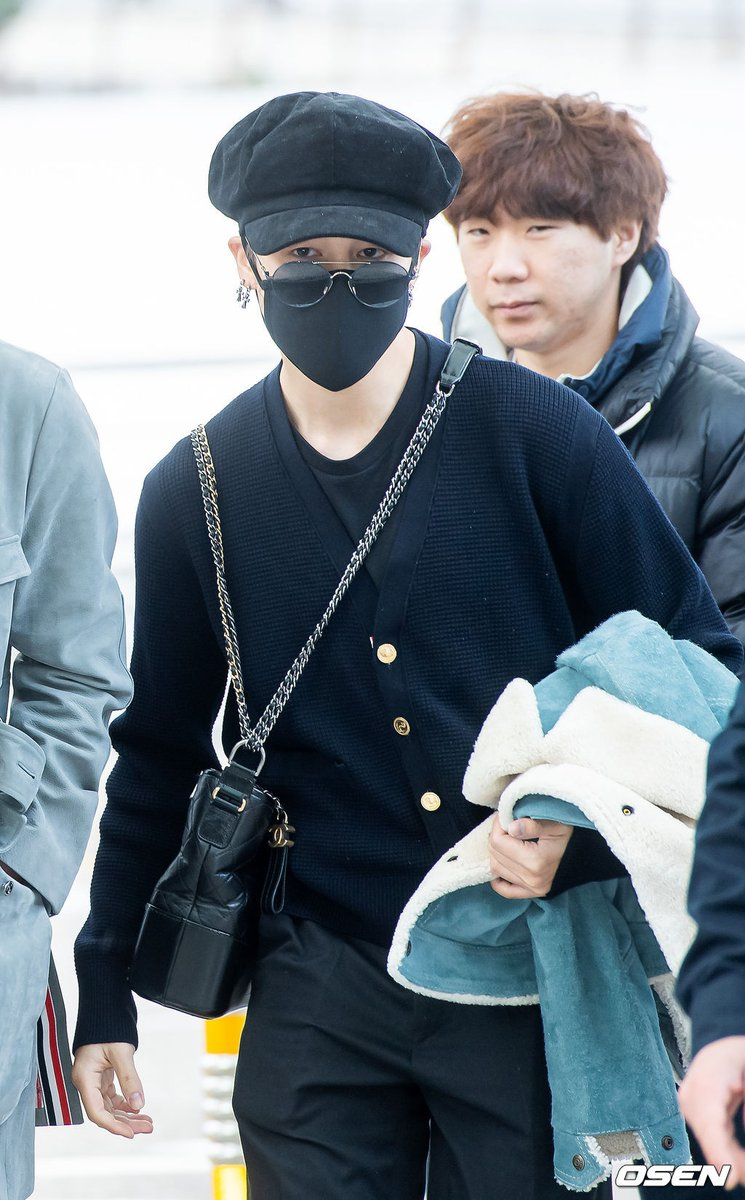 "BTS National⁷ on Twitter: ""[PRESS] 191203 BTS Jimin at Incheon Airport ✈ #BTS #방탄소년단 @BTS_twt… """