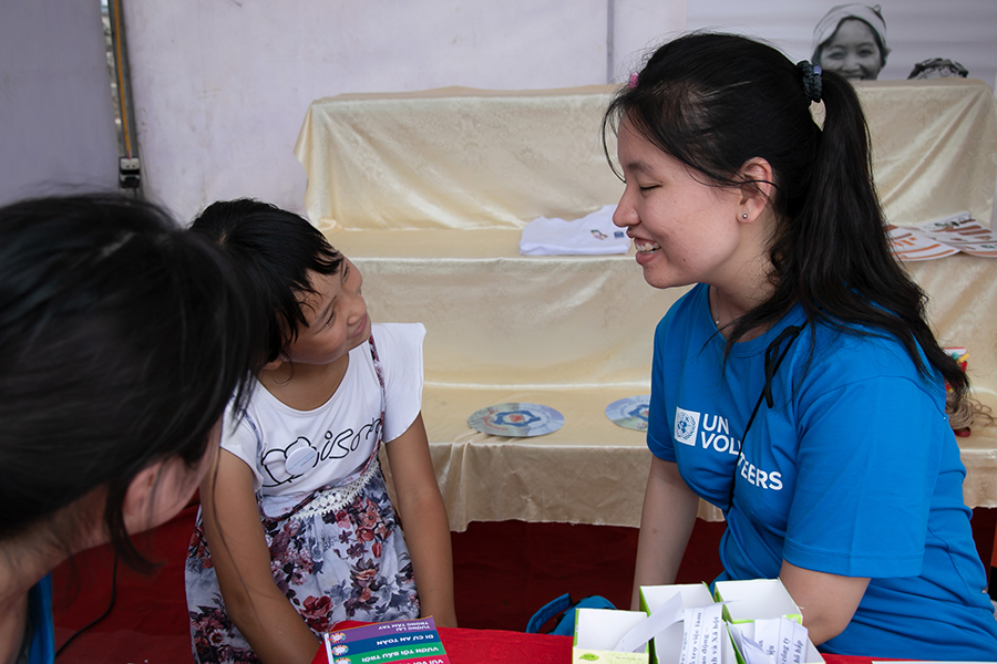 I am committed to ensuring people with disabilities are visible & engaged in society. In doing that, we can challenge perceptions & change mindsets about what it means to be disabled says UN Volunteer Huong Dao Thu #IDPD2019 #Volunteer4Inclusion👉bit.ly/35Tu3jg