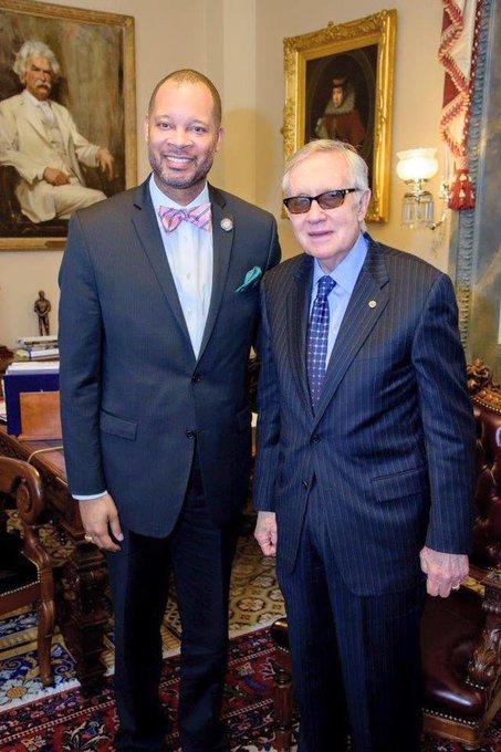 A very happy birthday to Senator Harry Reid. Thank you for your dedication to Nevada!