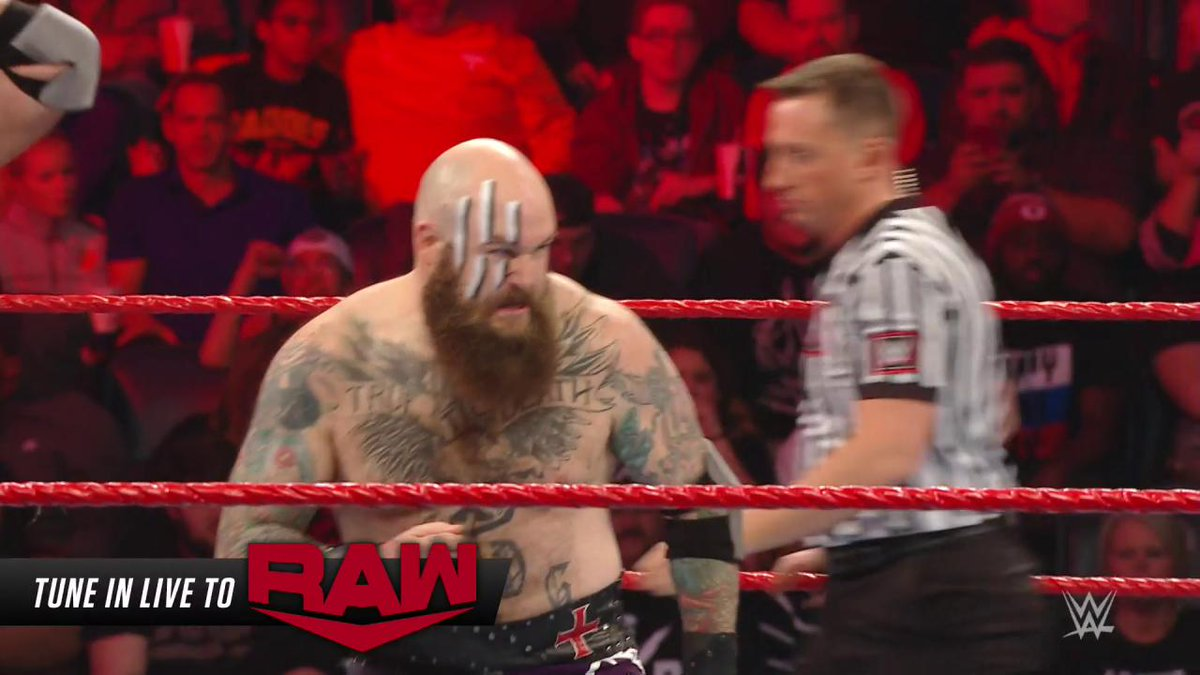 .@Erik_WWE & @Ivar_WWE continue to prove why the #VikingRaiders are the #RAW #TagTeamChampions!