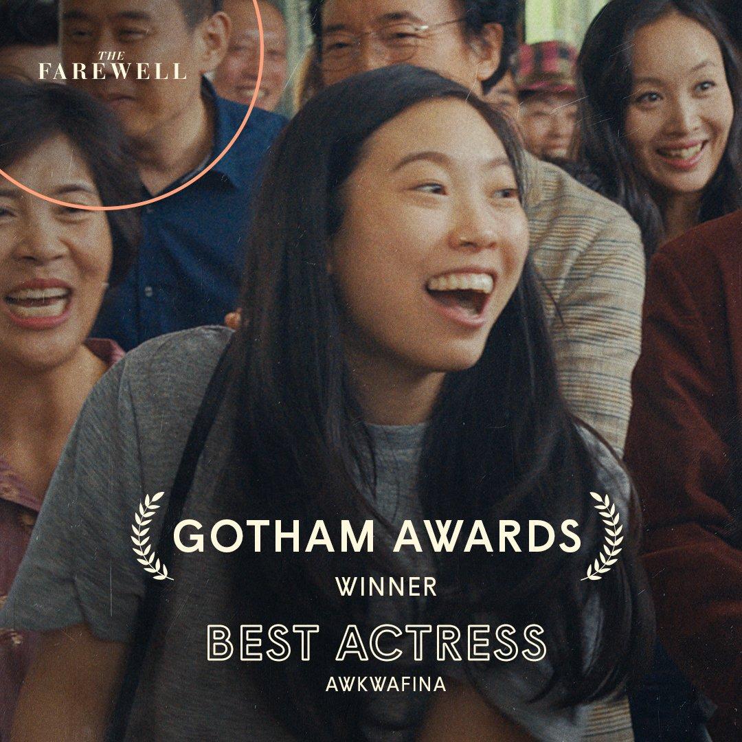 @thefarewell's photo on #GothamAwards